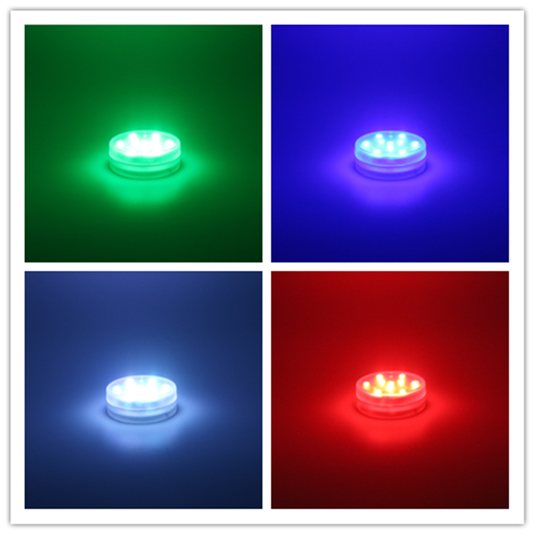 Remote Controlled Submersible LED Lights Color Gift for shisha