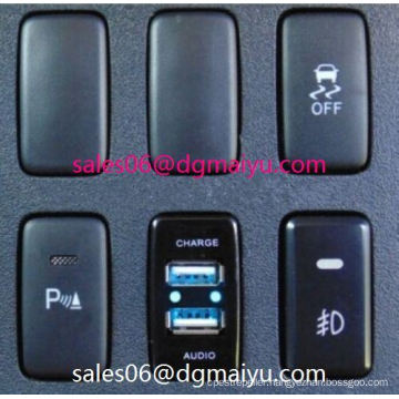 Power Window Switch for Toyota Corolla Bumper Lights Symbol - Blueled