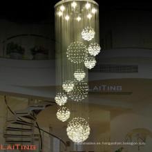 Decoraciones marroquíes k9 lámpara de araña de cristal y lámpara de iluminación para hotel 92032