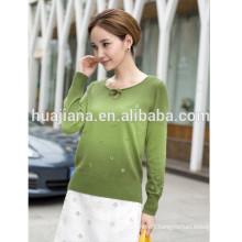 2015 new design women's cashmere sweater