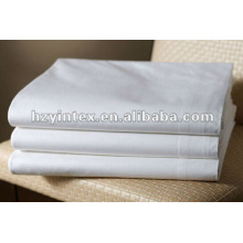 2016 High Thread Star Hôtel Snow White Flat Sheet
