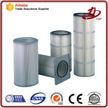 High Filtration Efficiency Filtros de cartucho industrial