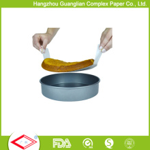 """OEM 8"""" Siliconised Parhment Paper Rounds Baking Cake Tin Liners"""