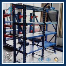 Drawer mold rack mold rack system