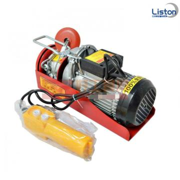 Mini Jenis Wire Rope Electric Hoist 1200kg