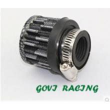 Filtro de ar de carro universal de 25mm para turbocompressor elétrico Turbo turbina de admissão de ar