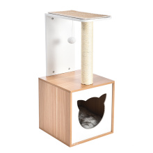 New Design Pet Products Cat Tower Tree Special Cat Tree House Scratcher for Cats Interactive Toys