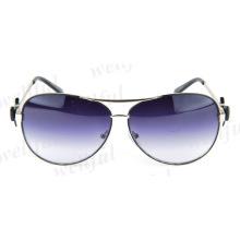 Women's aviator metal Sunglasses