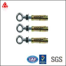 Kundenspezifische hochfeste Messing Ring Anker Schraube