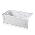 60 × 32 Three Wall Alcove Tub