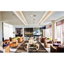 Hohe Qualität Foshan Hotel Gepolsterte Esszimmerstuhl Tisch Möbel (FOHCF-0064)