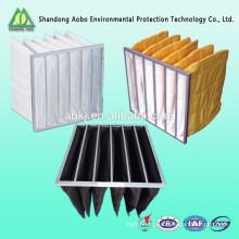 стандартный aluminlunm рамка карман синтетический мешок воздушного фильтра