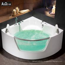 Aokeliya acrylic  canada hot sale luxury  jetted soaking bath tubs for two