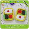 New Design Groothandel Eten Shaped Eraser Chinese fabriek