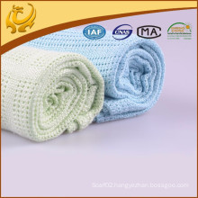 Natural Material Woven Wholesale Natural Material Bamboo Hospital Blanket For Baby
