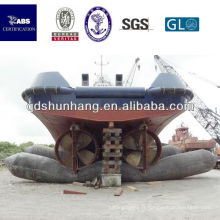 ascenseur gonflable de bateau en caoutchouc marin