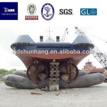 elevador de barco inflável de borracha marinha