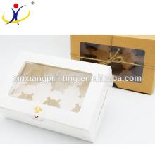 Customized Color Cheap custom cupcake boxes inserts,custom packaging sweet box,customer's logo