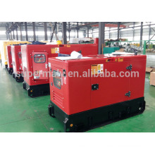 CE Approved silent 80KW natural gas generator with Cummins engine