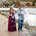 Gender Reveal Party Confetti Cannons,Baby show