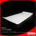 wholesale dinner ceramic porcelain rectangular serving tray