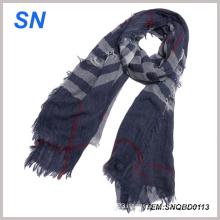 Factory Direct Sale Winter Men Vertical Stripe Knit Scarf