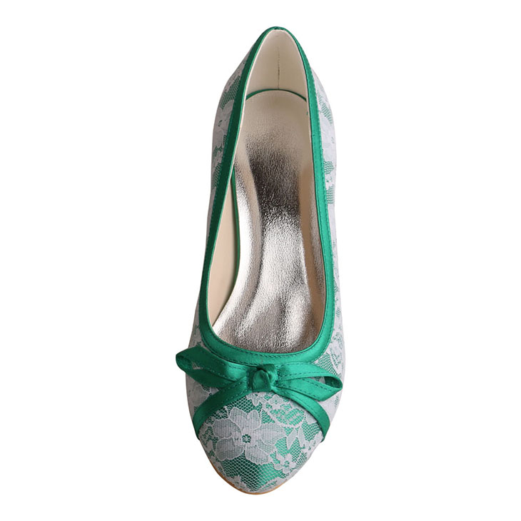 Green Bridal Shoes