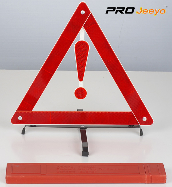 Reflective Stop Signs Car Tripod DL-206 6
