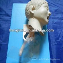 2013 manequim de intubação traqueal infantil avançado