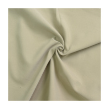 In stock quick dry sanding peach skin 100% polyester kids fabric microfiber for garment shorts