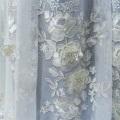 Роскошная оконная ширма с тиснением и вышивкой из веревки