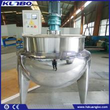 KUNBO 100L / 200L Lebensmittelverarbeitung Dampf Doppelmantel Kochen Wasserkocher