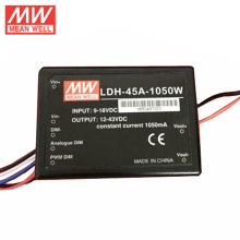 MEAN WELL original DC-DC Converter 1050mA / 45W DC-DC Step-Up Constant Current LED driver 1050mA LDH-45B-1050