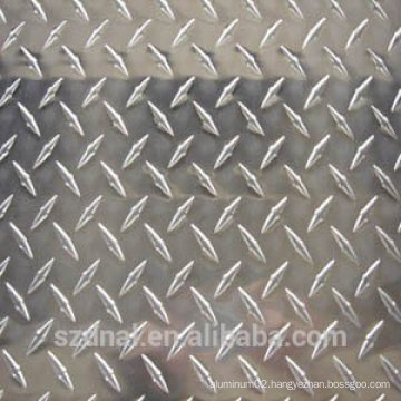 Mill finish embossed aluminium plates