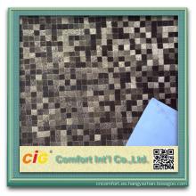Materia prima popular del cuero sintético del designpvc de China