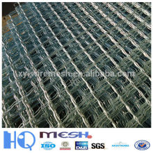 beautiful grid mesh fence