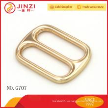 Forme la hebilla decorativa del metal de la hebilla del metal para los accesorios del bolso