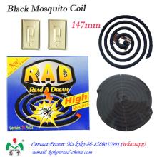 Bobina de mosquito negra, Bobina de mosquito sin humo, Bobina de mosquito repelente