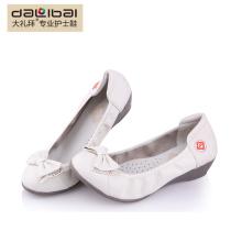 high quality white nursing shoes white leather nurse medical shoes