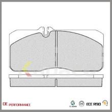 WVA 29055 Kapaco Hochleistungs Premium Keine Staub Bremsbeläge für Renault