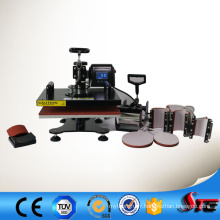 Le CE a approuvé 8 dans 1 machine multifonctionnelle de presse de la chaleur