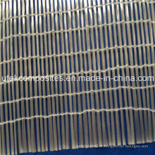 Tela unidirecional de alta intensidade e fibra de vidro molhada rápida