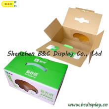 Boîte d'emballage de lait, boîtes en carton ondulé de couleur, boîte d'emballage, boîte de papier (B & C-I018)