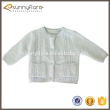 suéter de rebeca de cachemira de invierno