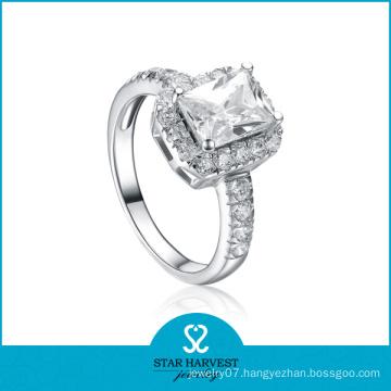 Fashion 925 Silver Wedding Ring (SH-R0105)