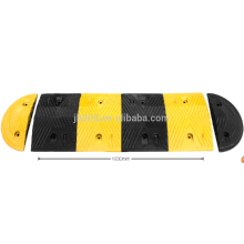 heavy strength rubber speed hump used on road with size 1000*350*50mm