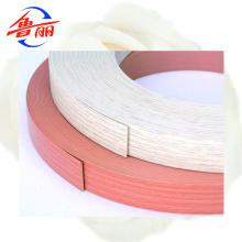 Borda de borda em madeira de PVC