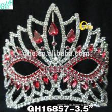 Schönheit gefrorene Festzug Krone