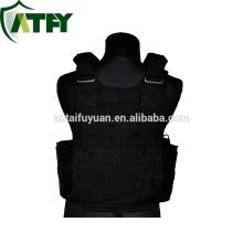ATFY Kevlar jaqueta corpo armadura personalizado equipamentos de polícia do exército à prova de bala colete