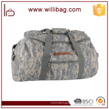 Custom Design camouflage Hiking Bags Travelling Bag High Quality Canvas Duffle Bag